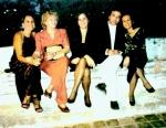 """Abertura da Exposição """"Nômades Amantes do Tempo"""". Brunoe France Steinbach com convidados.1998, Museu Municipal, Mossoró, Rio Grande do Norte, Brasil."""